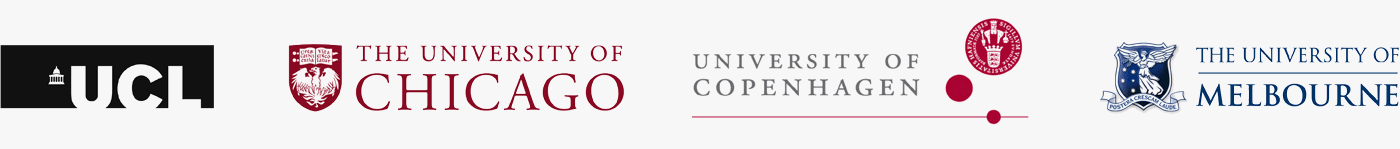 University College London | Chicago University | University of Copenhagen | University of Melbourne