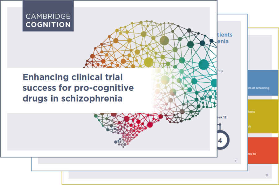 Learn more about improving your pro-cognitive drug trial