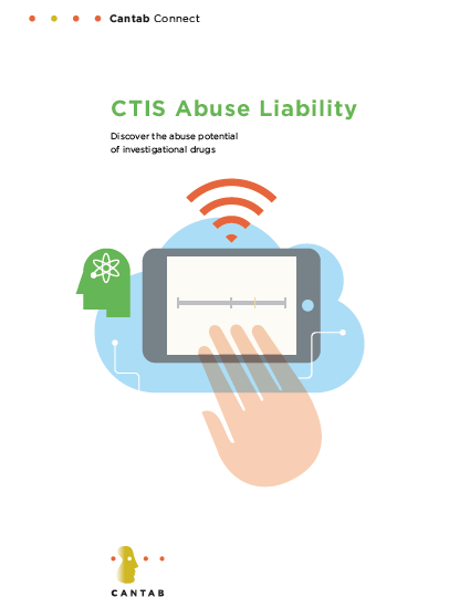 Brochure for CTIS-Abuse Liability